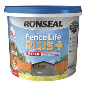 Ronseal Fence Life Plus 9L - Slate