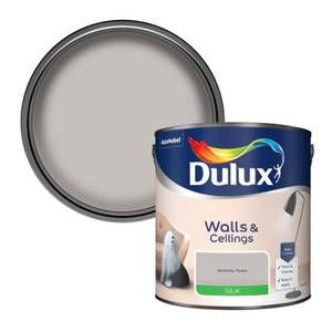 Dulux Perfectly Taupe - Silk Emulsion Paint - 2.5L