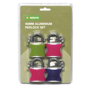Padlock Set - Pack of 4
