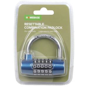 Resettable Combination Lock - Zinc Alloy