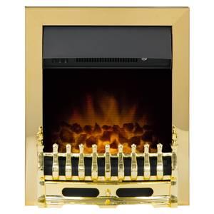 Adam Blenheim Electric Inset Fire in Brass