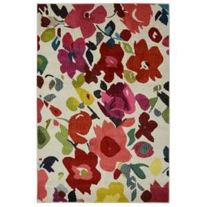 Villa Bright Floral Rug - 80 x 150cm