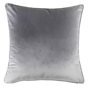 Large Plain Velvet Cushion - Light Grey