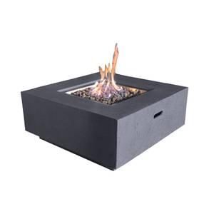 Albany Gas Fire Pit - Dark Grey