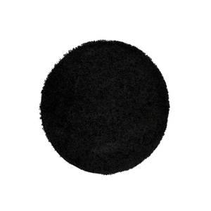 Jazz Rug Black Rug - 120cm Circle