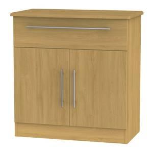 Siena 1 Drawer Sideboard - Modern Oak