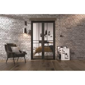 Greenwich - W4 Room Divider - Black - 2031 x 1246 x 35mm