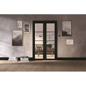 Soho Room Divider W4 - Black - 2031 x 1246 x 35mm