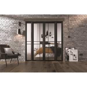 Greenwich - W6 Room Divider - Black - 2031 x 1904 x 35mm