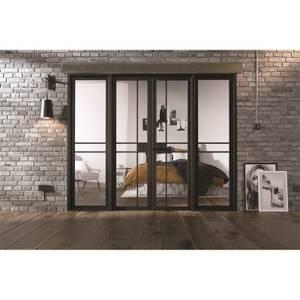 Greenwich - W8 Room Divider - Black - 2031 x 2478 x 35mm