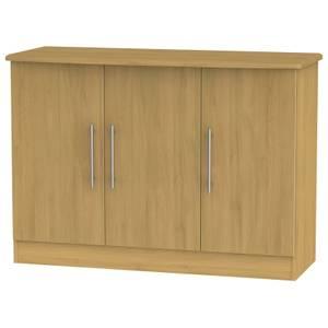 Siena 3 Door Sideboard - Modern Oak