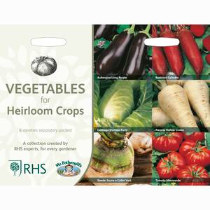 RHS Vegetables for Heirloom Crops Collection