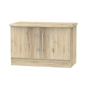 Siena Low 2 Door Sideboard - Bordeaux Oak