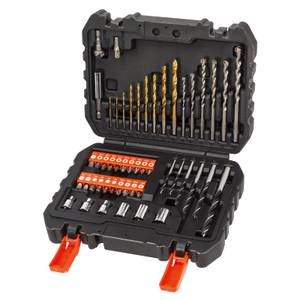 BLACK+DECKER 50 Piece Mixed Drilling & Screwdriving Accessory Set