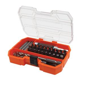 BLACK+DECKER 45 Piece Screwdriving & Hex Drill Bit Accessory Set