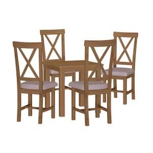 Newlyn 4 Seater Dining Set - Oak