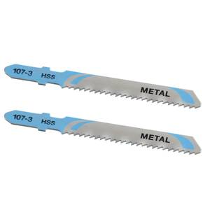 STANLEY 2x T-Shank HSS Jigsaw Blades - 48mm