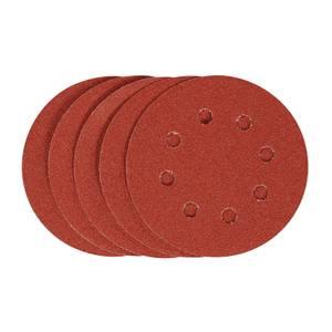STANLEY - 5x 120g Quick Fit Random Orbital Sanding Discs 115mm