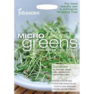 Johnsons Micro Greens Coriander Seeds