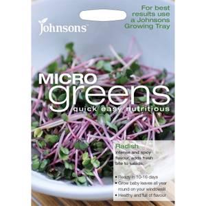 Johnsons Micro Greens Radish Seeds