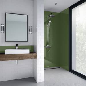 Wetwall Olive Grove Gloss 3 Sided Kit - Acrylic