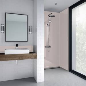 Wetwall Pale Pink Gloss 3 Sided Kit - Acrylic
