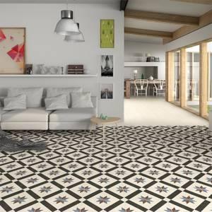 Bara Ivory Wall & Floor Tile - 330 x 330mm