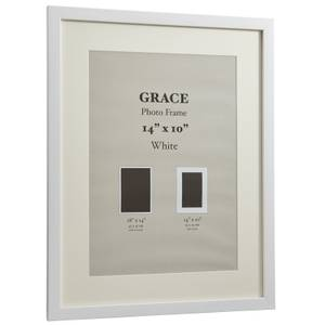 Grace Picture Frame 10 x 14 - White