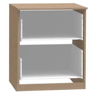 Modular Bedroom 2 Drawer Narrow Chest - Light Oak