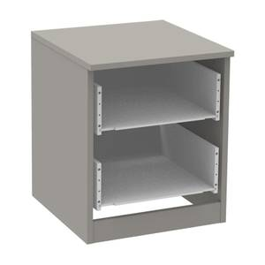 Modular Bedroom 2 Drawer Narrow Chest - Grey