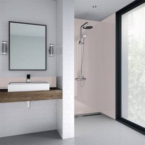 Wetwall Pale Pink Gloss - 600mm - Acrylic