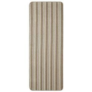 Java washable stripe runner -Cream