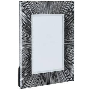 Glitter Picture Frame 6 x 4 - Black