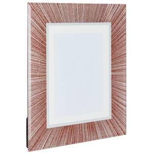 Glitter Picture Frame 7 x 5 - Copper