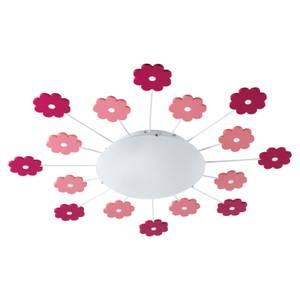 Eglo Viki 1 Childrens Light - Pink & White