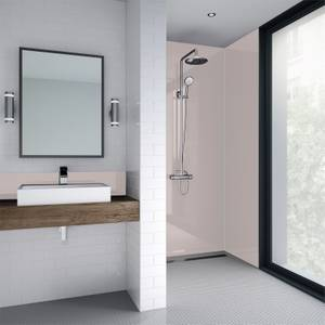Wetwall Pale Pink Matt - 600mm - Acrylic