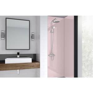 Wetwall Pale Pink Matt - 900mm - Acrylic