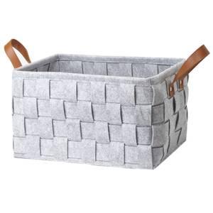 Small Felt Storage Basket - Grey