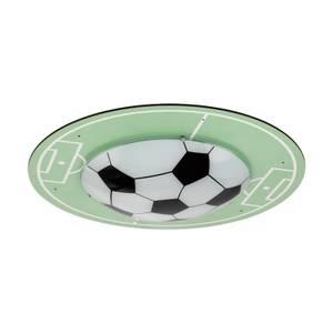 Eglo Tabara Childrens Football Ceiling Light - Green & White