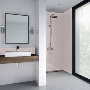 Wetwall Pale Pink Matt - 1220mm - Acrylic