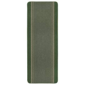 Richmond washable runner -Green