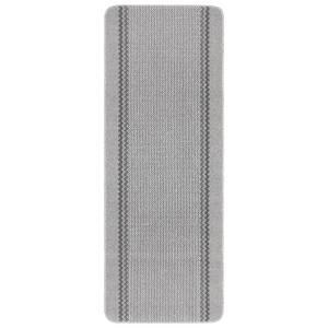 Richmond washable runner -Silver
