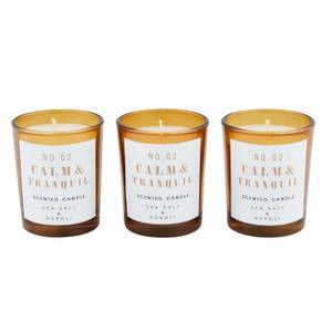 3 x Sea Salt & Neroli Votive Candles