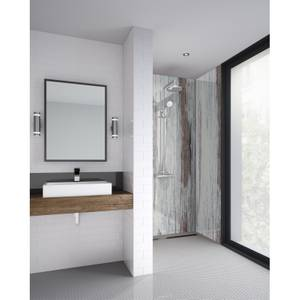 Wetwall 1200mm square edge laminate - painted wood
