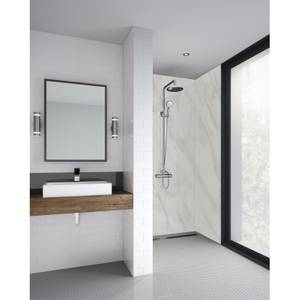 Wetwall Cararra Marble 2 Sided Kit - Laminate