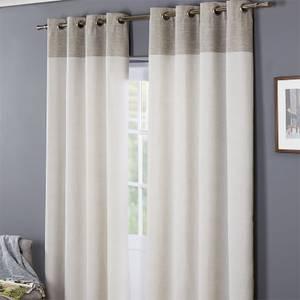 Oslo 100% Cotton Eyelet Curtains 90 x 90 - Grey