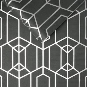 Superfresco Easy Black Albany Geo Wallpaper