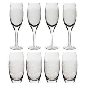 Denby Monsoon Filigree Glass Set