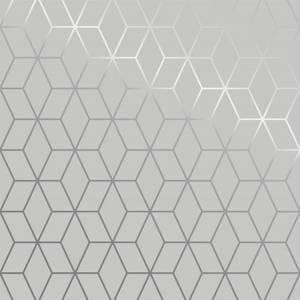 Superfresco Easy Prism Grey Clair Wallpaper