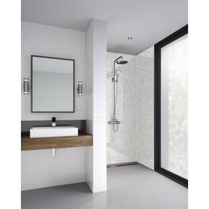 Wetwall Galaxy White 3 Sided Kit - Laminate